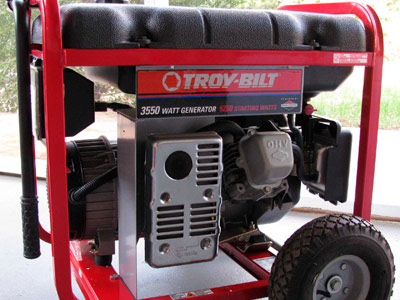 Special Equipment and Generators